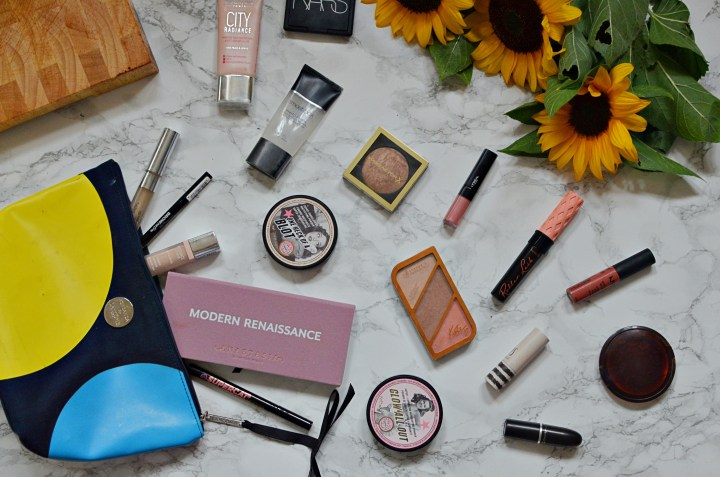 My Everyday Makeup Bag | August 2017
