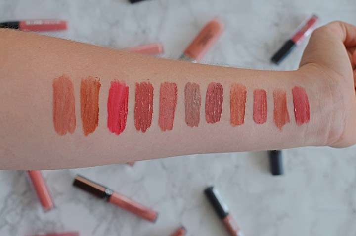 Wear and Compare | Liquid Lipsticks | Swatches