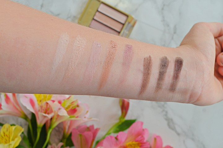 Review | Max Factor Masterpiece Nude Palette in Rose Nudes Swatches