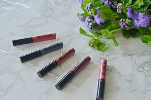 Maybelline Metallic Foil Lipsticks Review