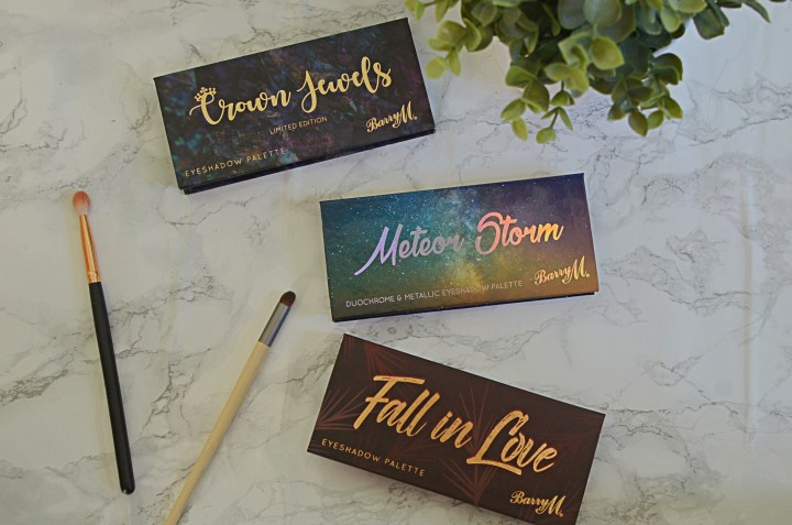 New | Barry M Eyeshadow Palettes