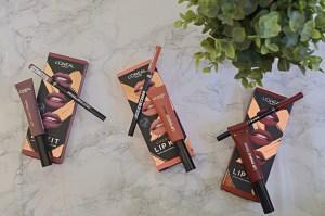 L'Oreal Cheryl's Lip Kits Review