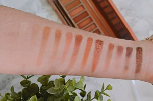 Swatches | Naked Urban Decay Heat Palette