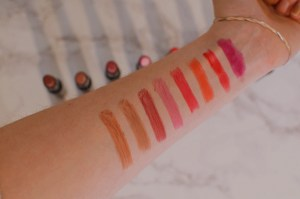 Collection Intense Shine Gel Lipstick Swatches