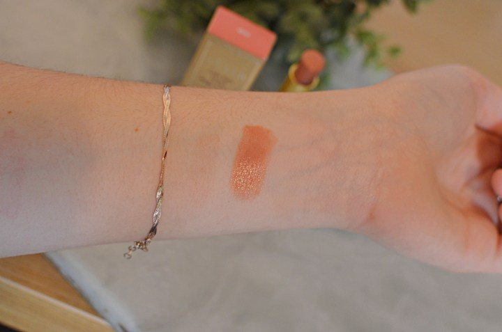 Swatches | Stila Color Balm in Olivia