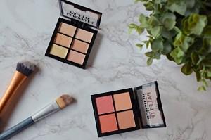Barry M Concealer Palette and Blush Palette