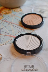 Maybelline Master Chrome and Master Holographic Highlighters
