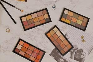 Revolution Reloaded Palettes Review