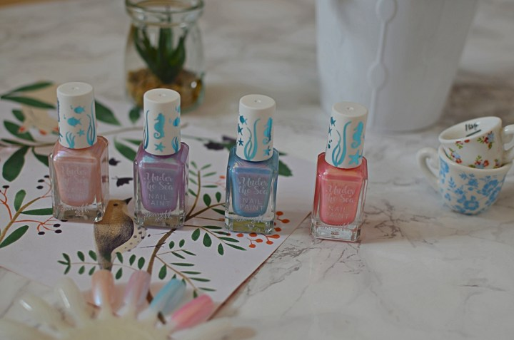 New | Barry M Under The Sea Nail Polishes
