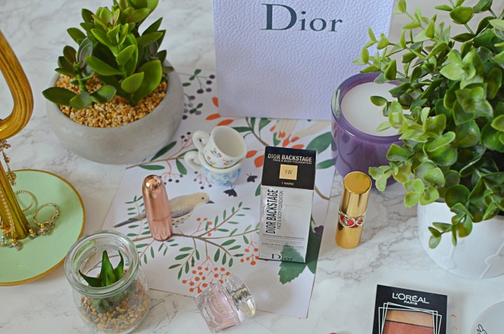 Dior Backstage Face and Body Foundation Review
