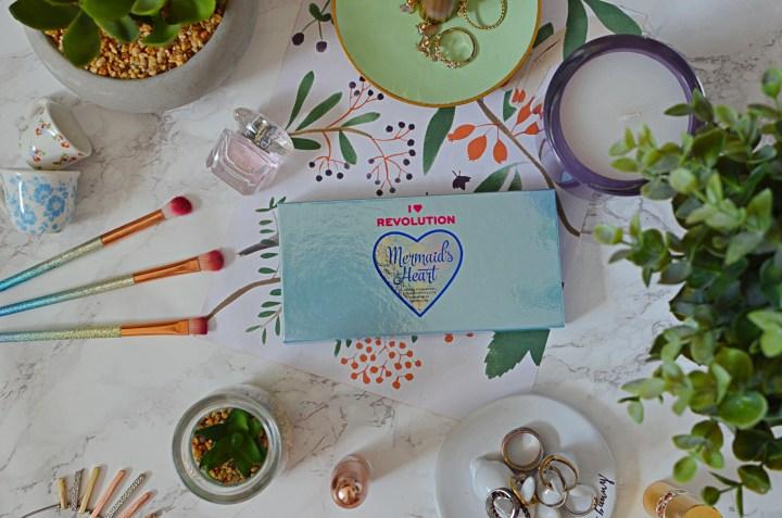 New | I Heart Revolution Mermaid's Heart Palette