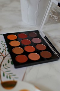Nip + Fab Eyeshadow Palette in Fired Up Review