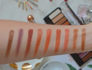 Rimmel Magnif'Eyes Spice Edition Swatches
