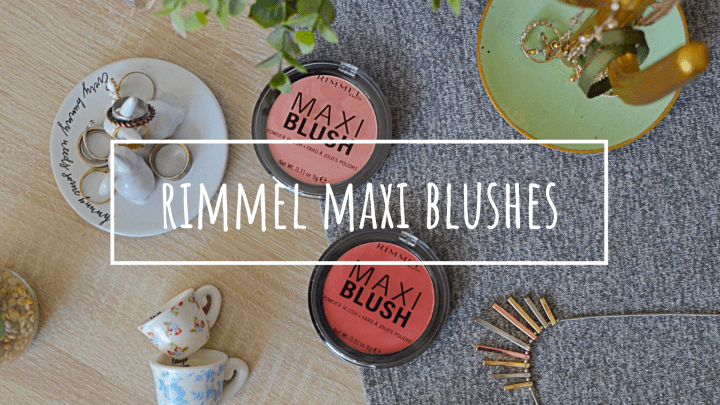 New | Rimmel Maxi Blushes