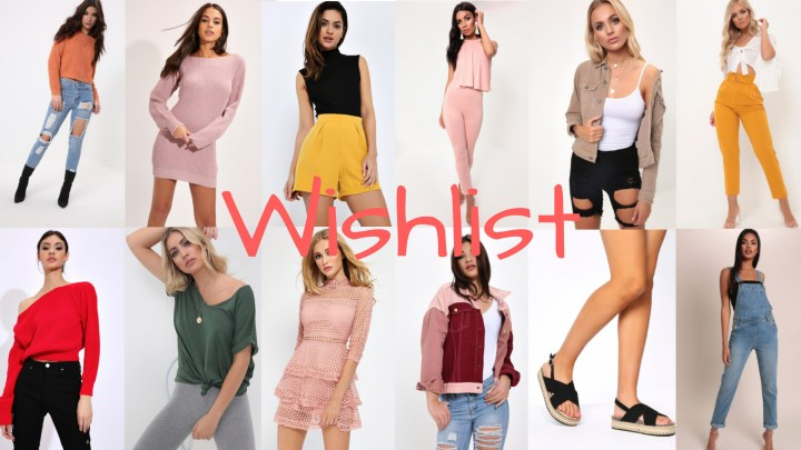 Clothing Wishlist | Get 30% Off ISawItFirst This Bank Holiday!