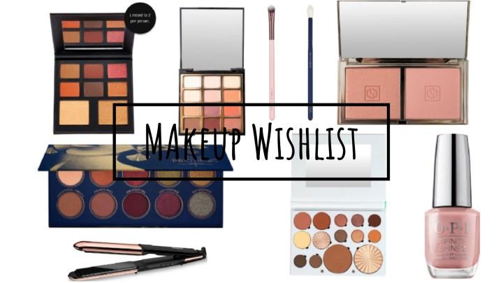 Makeup Wishlist | October 2018