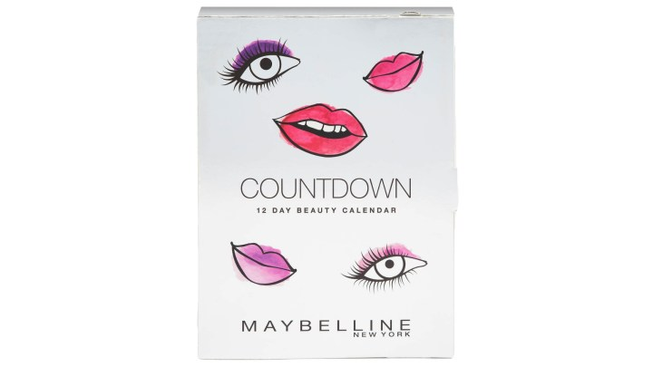 Maybelline Advent Calendar Unboxing
