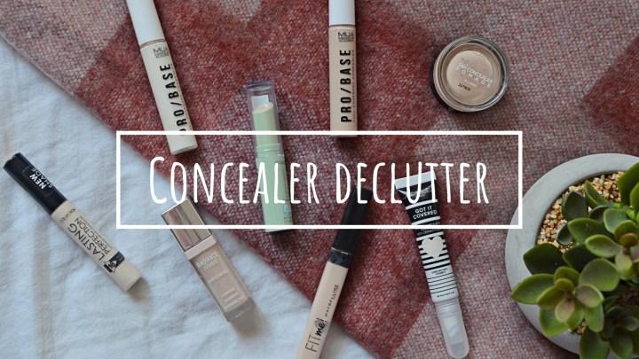 Concealer   Makeup Declutter 18/19