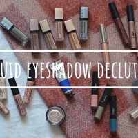 Liquid Eyeshadows | Makeup Declutter 18/19
