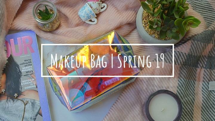 Makeup Bag Spring