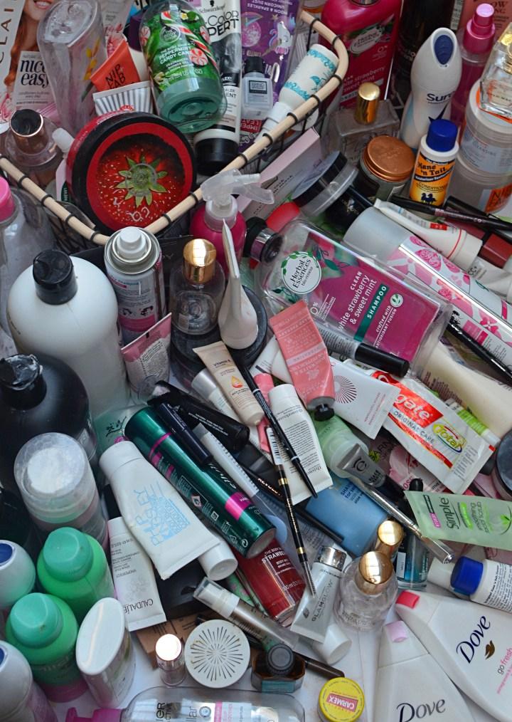 2019 Makeup Skincare Haircare Empties 1