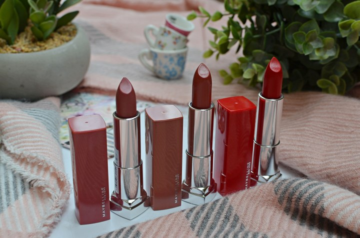 Maybelline Lipsticks 1