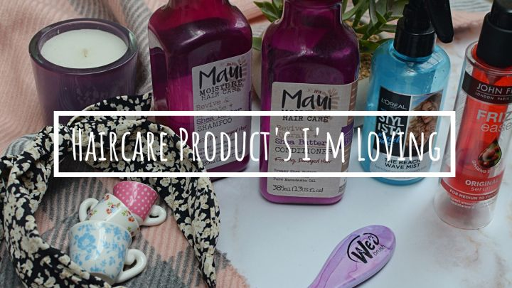 Haircare Products I'm Loving