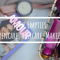 June Empties | Skincare, Haircare, Makeup