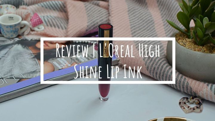 New | L'Oreal Paris Brilliant Signature High Shine Lip Ink