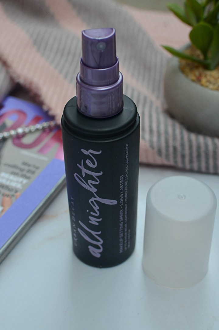Is It Worth The Hype?   Urban Decay All Nighter Setting Spray
