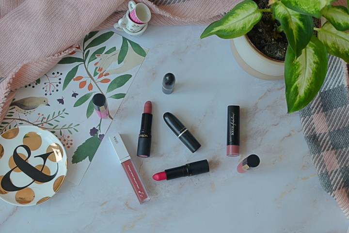 My 8 Most Worn and Loved Lipsticks   Nudes, Reds & Brights!