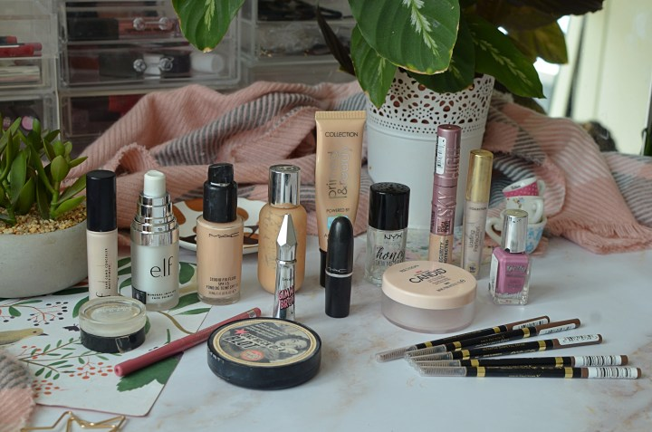 6 Month of Project 10 Pan | All The Makeup I've Used Up in 6 Months