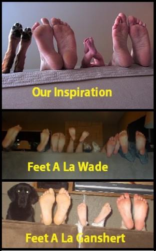 feet pinterest challenge