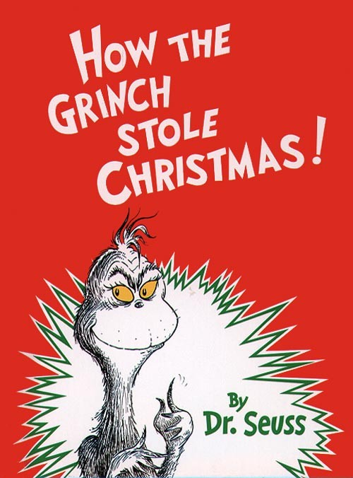Image result for how the grinch stole christmas book