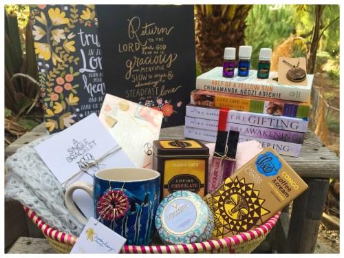 Reeds of Hope gift basket