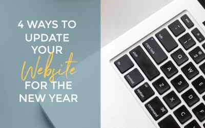4 Ways to Update Your Website for the New Year