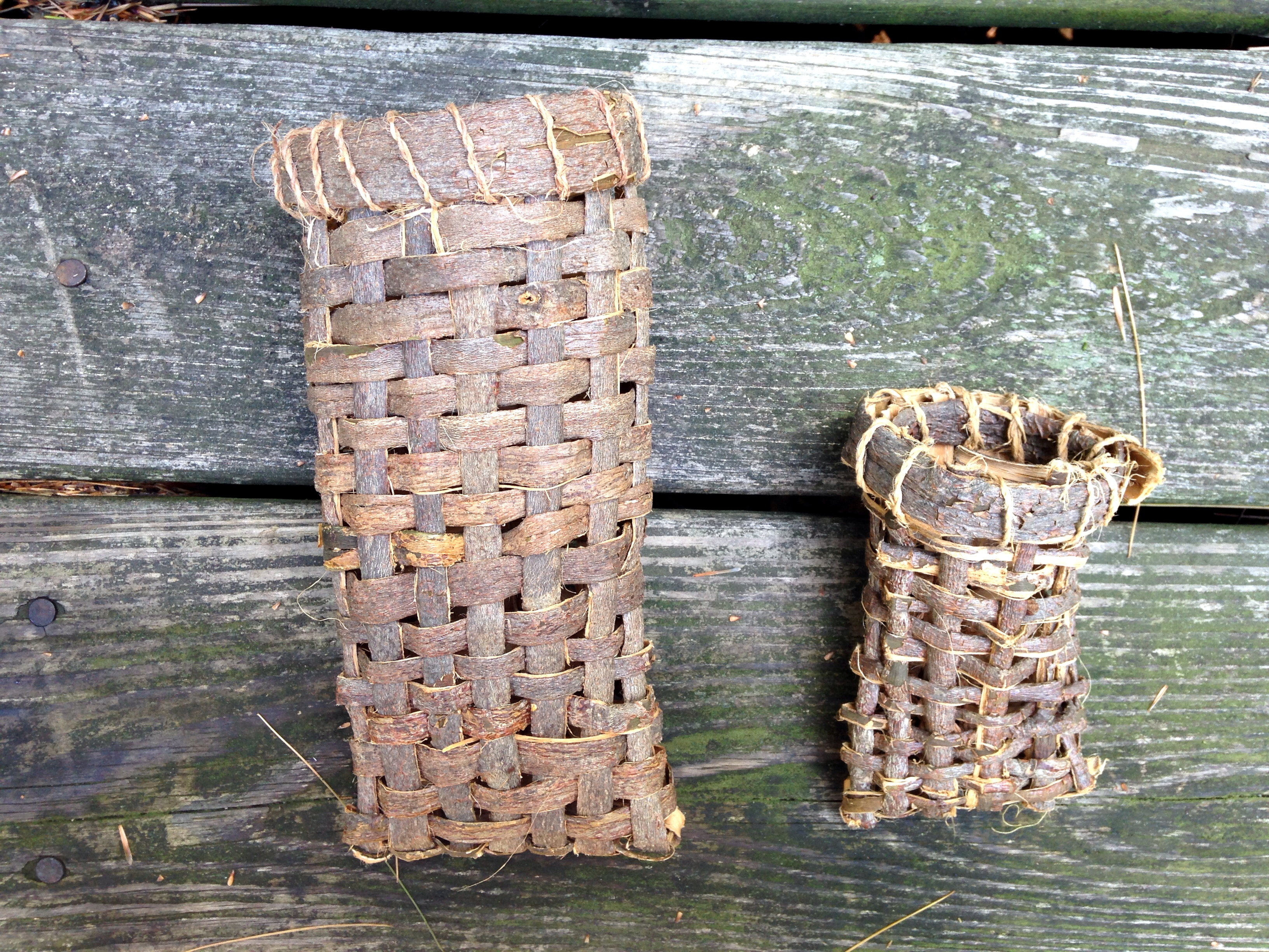 Processing Basswood Bark For Making Cordage And Baskets