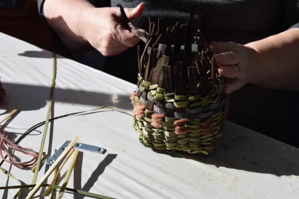 Twined basket workshop