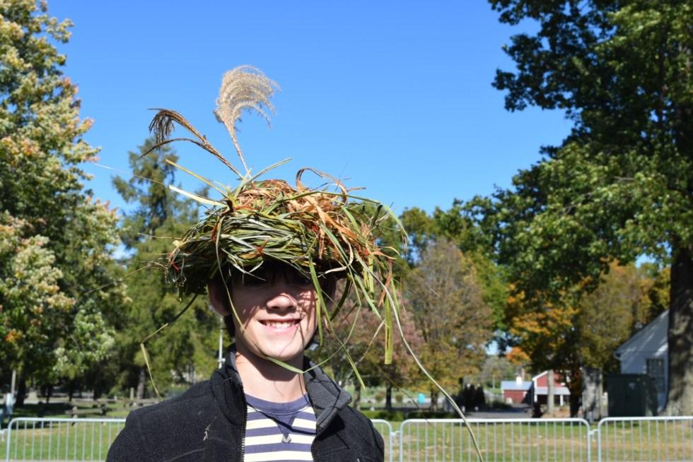 the infamous basket hat