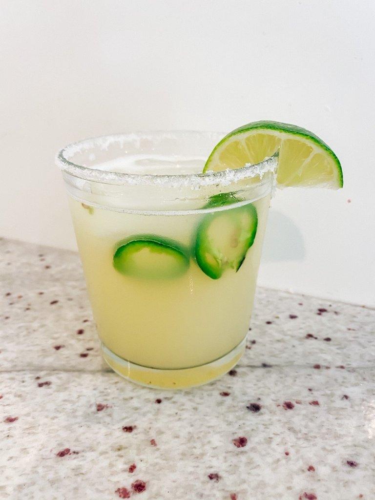 The BEST Skinny Jalapeño Margarita Recipe