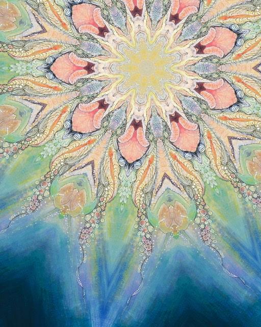 She's in Bloom Mandala