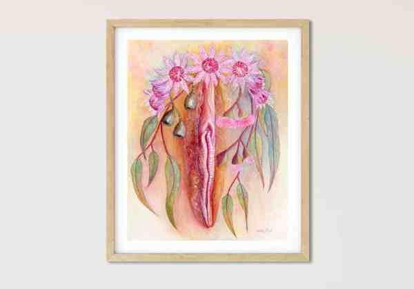 Life blossoms framed
