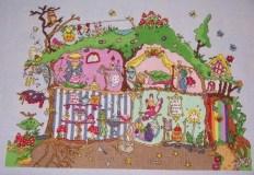 Cut Thru Fairy Cottage