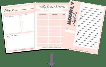 Online classes planner