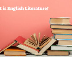 what is the study of English Literature?