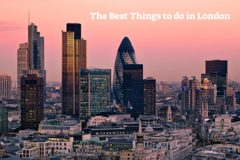 what are the best things to do in London