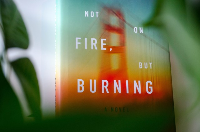 Greg Hrbek's searing and tense novel about fear, big and small. Not on Fire, But Burning