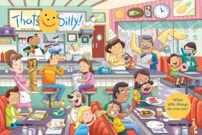 """Highlights High Five """"That's Silly!"""" Illustration (Pewter Plate Award winner)"""