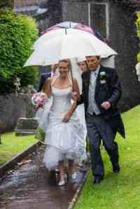 wedding templeton devon tiverton photographer rain
