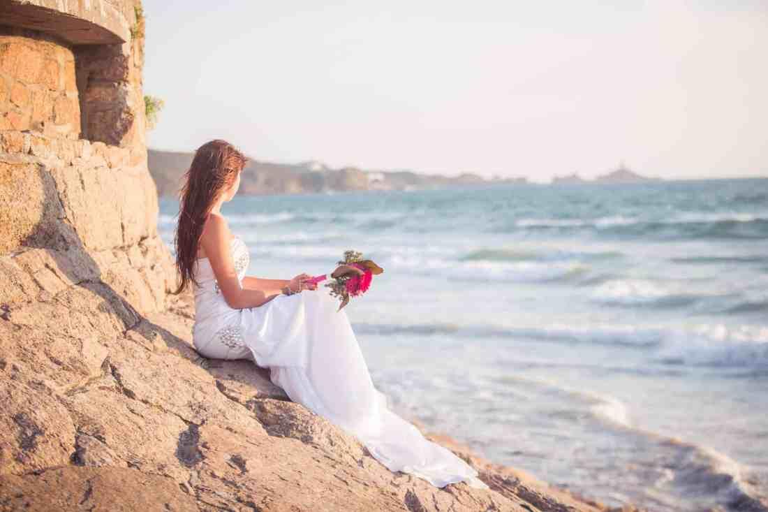 wedding cherish the dress trash sea jersey st ouens